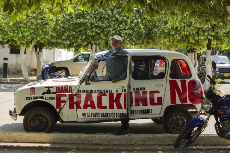 Fracking en Colombia. Leonardo Gutiérrez, presidente de la Asociación de palmeros de Puerto Wilches. Foto: Pilar Mejía - Semana.