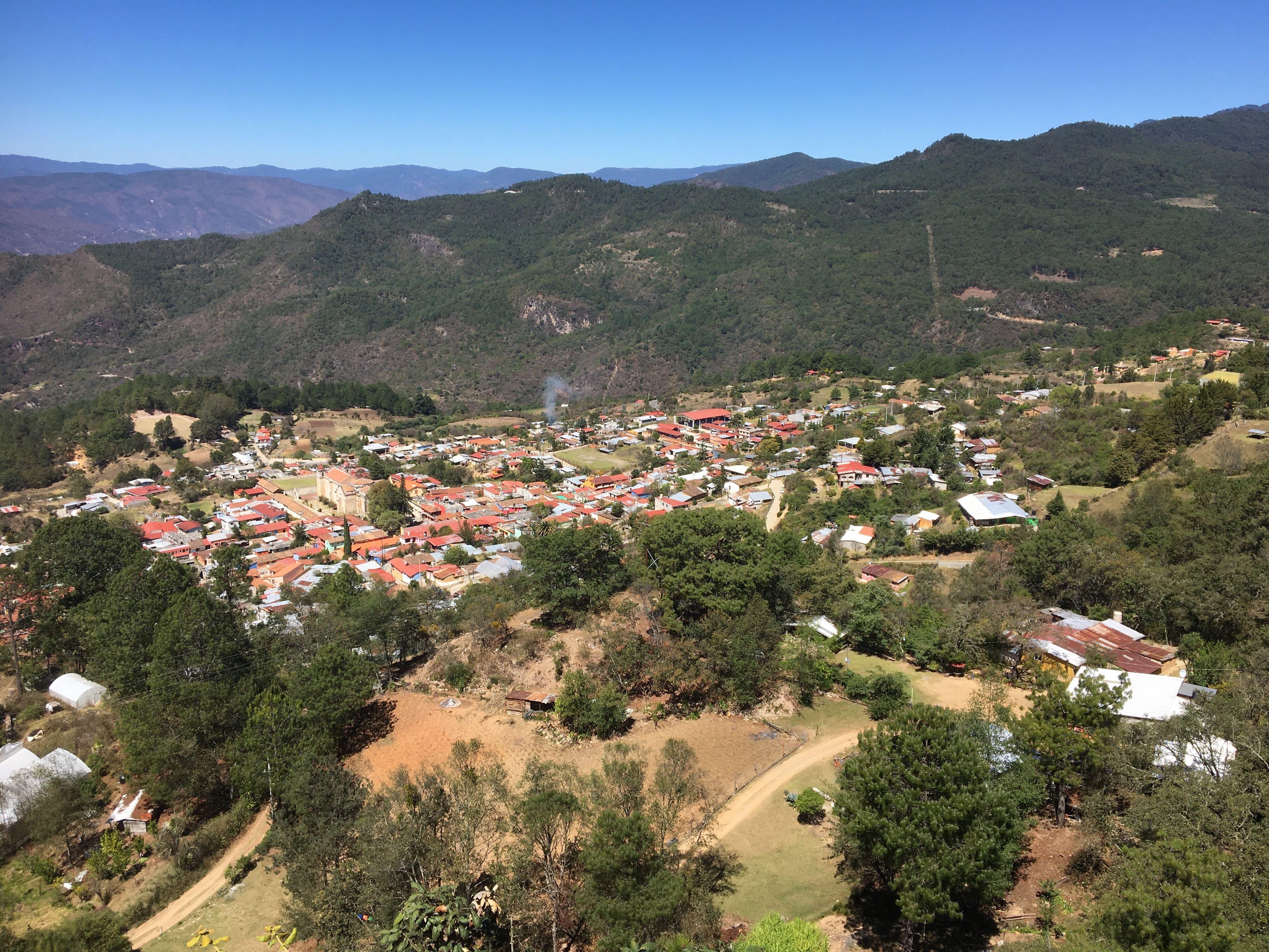 Capulálpam, comunidad forestal en Oaxaca