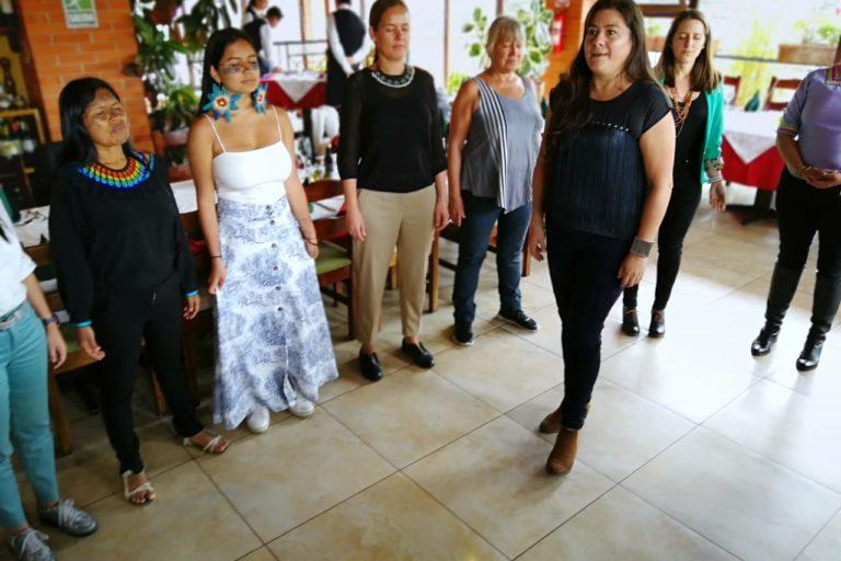 Ataques a mujeres amazónicas. Las mujeres amazónicas se reunieron con la Fundación Pachamama. Foto: Fundación Pachamama.