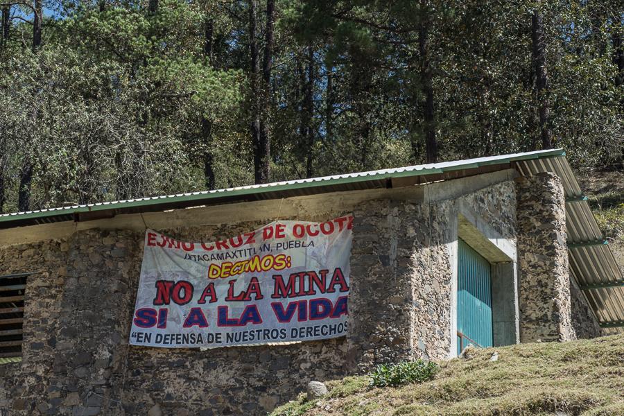 Ejido Cruz de Ocote, Puebla, México