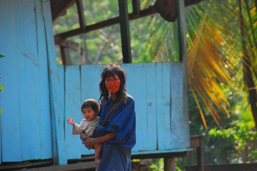 Las poblaciones indígenas son las más vulnerables debido debido a los altos índices de anemia y desnutrición. Foto: Ministerio de Cultura.