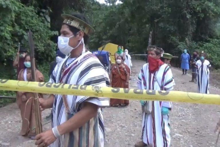 COVID 19 Las comunidades nativas cerraron sus territorios desde el inicio del estado de emergencia. Foto: Agencia Andina.