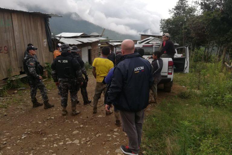 Mineria en Ecuador. La Arcom es la Agencia de Regulación y Control Minero que en Ecuador debe encargarse de esas actividades todo el año pero no llega a algunos sectores dicen algunos activistas ambientales. Fotografía de Arcom.