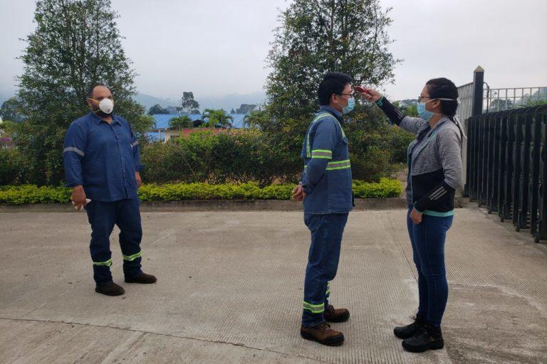 Mineria en Ecuador. El proyecto Mirador realiza actividades de mantenimiento dicen las autoridades. Fotografía de Arcom.
