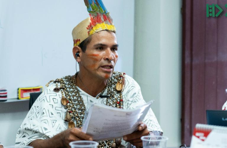 El líder indígena Arbildo Meléndez fue asesinado en abril de 2020. Foto: Aidesep.