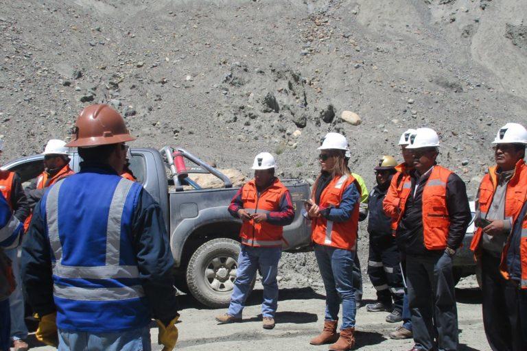 Vilma Morales ha visitado todas las regiones mineras de Perú. Foto: Archivo personal.