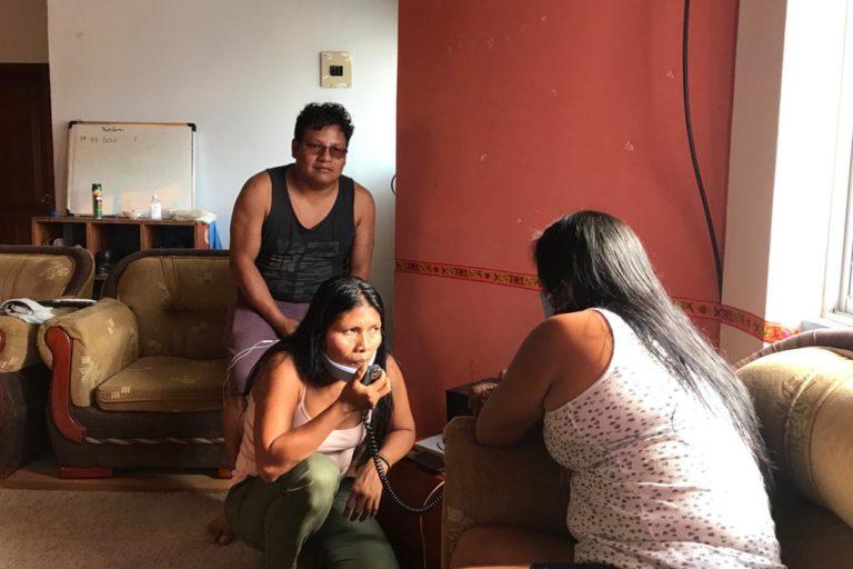 Covid19 llega a pueblos indígenas. Los líderes indígenas mantienen informadas a sus comunidades sobre el COVID-19 Foto: Amazon Frontlines.
