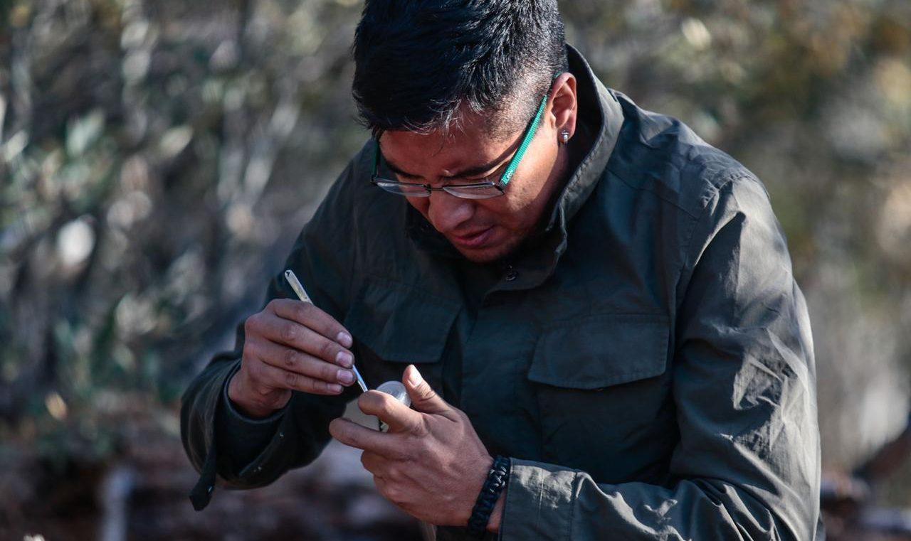 Científico mexicano Diego Barrales