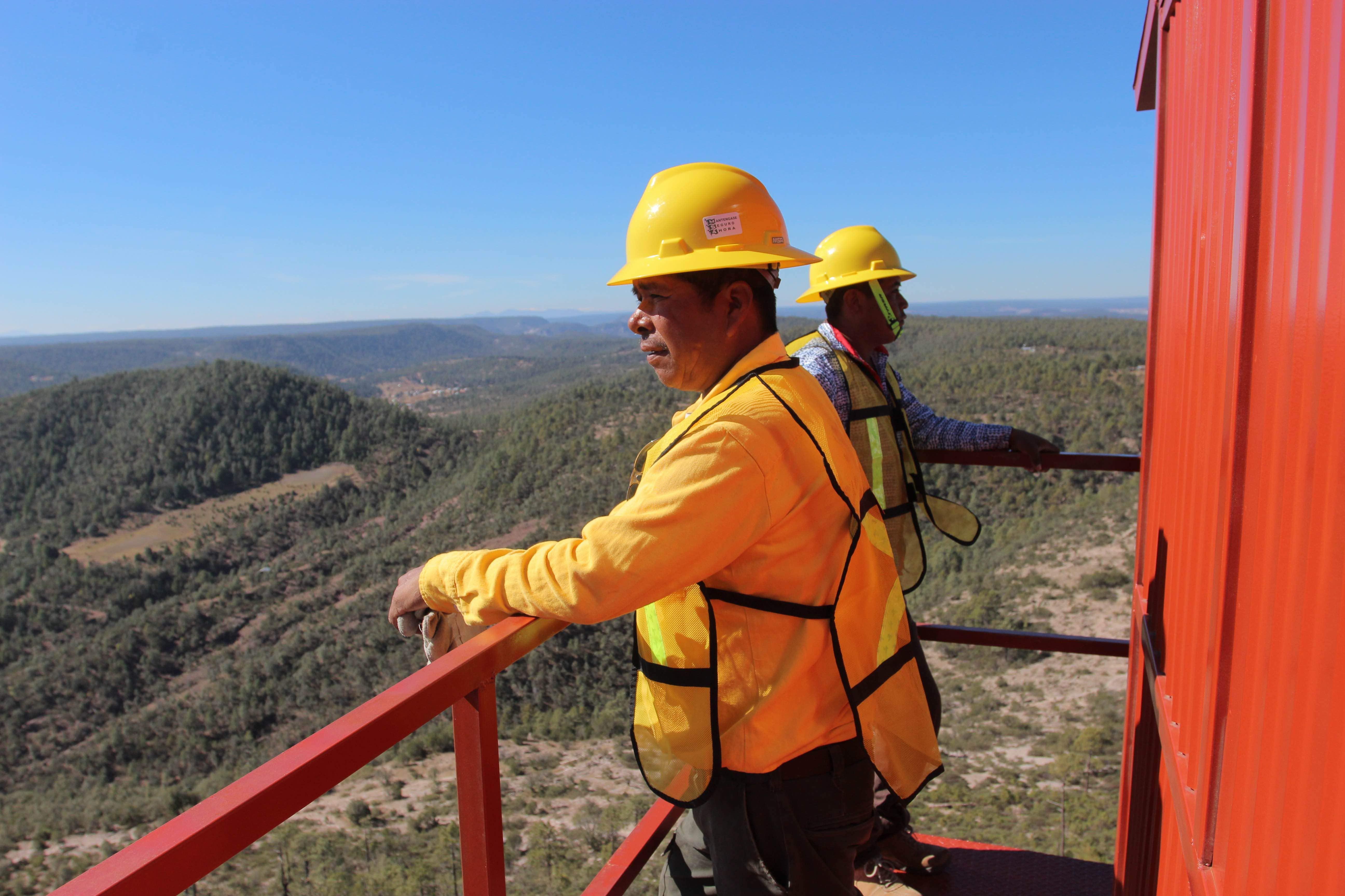 Prevención incendios en México