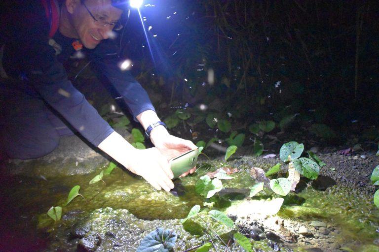 coronavirus Santiago Ron ha debido suspender su salida a campo para la búsqueda de ADN de anfibios.