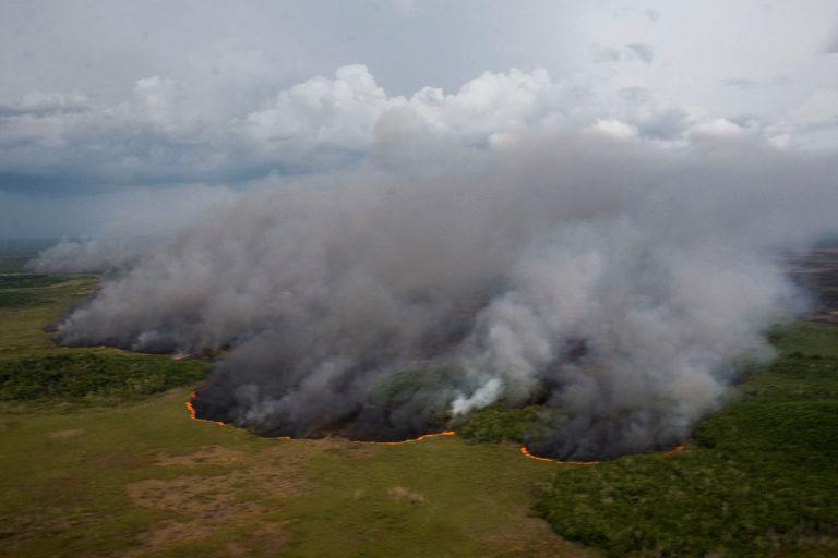 Incendios Península de Yucatán