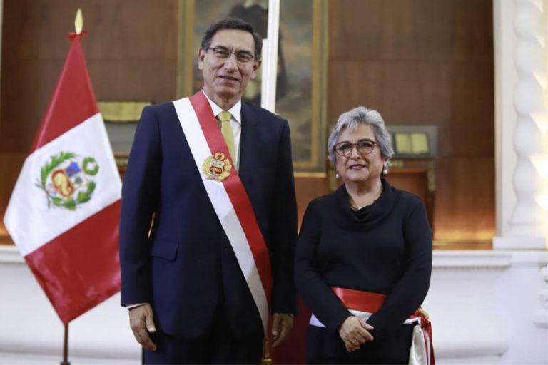 COVID 19 La ministra de Cultura, Sonia Guillén, ha sido cuestionada por contratación de cantante en plena cuarentena. Foto: Agencia Andina.