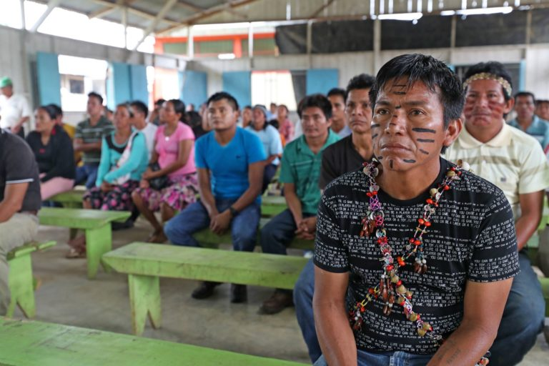 COVID 19 Las comunidades shipibo konibo de Ucayali han reportado más de 50 fallecidos durante la pandemia. Foto: Agencia Andina.