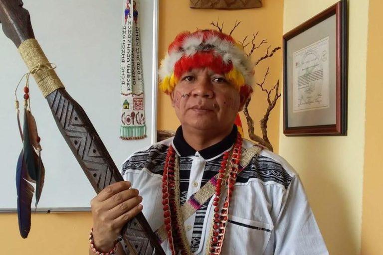 Diaz Mirabal cuestiona la falta de respuesta y demora de los gobiernos para atender a las poblaciones indígenas. Foto: COICA.