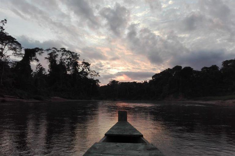 Día Mundial del Ambiente Atardecer en el Parque Nacional Madidi. Foto: Radamir Sevillanos.