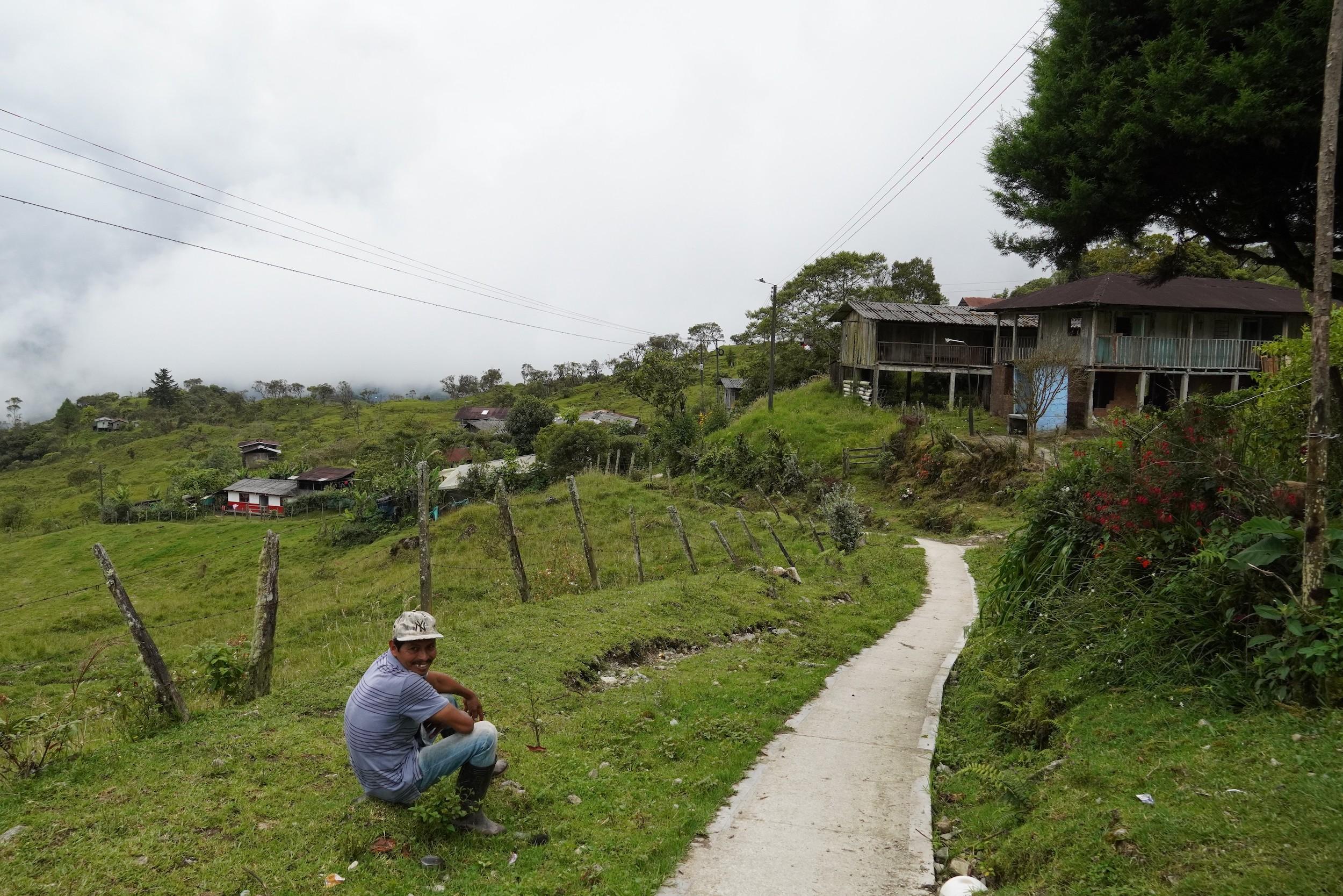 Vereda Minchoy en el municipio de San Francisco, Putumayo. Foto: María Fernanda Lizcano.