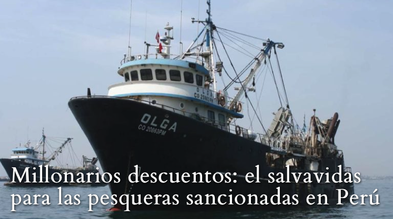 Barco industrial de Pesquera Diamante. Foto: Pesquera Diamante.