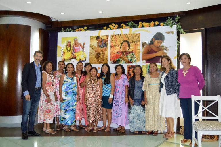 Crisis ONG Venezuela. Programa de mujeres indígenas emprendedoras del Delta Amacuro con Tierra Viva. Foto: Tierra Viva.