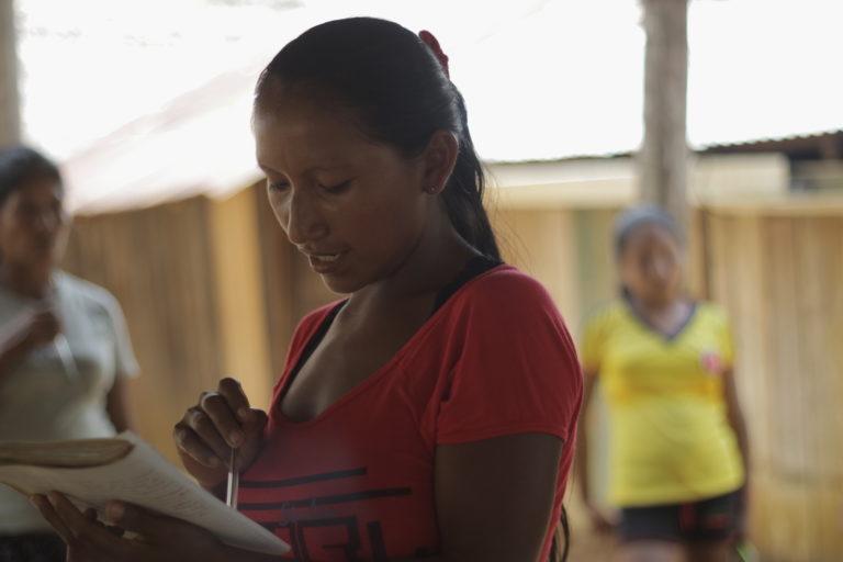Territorios indígenas Colombia. Los indígenas amazónicos llevan décadas reclamando la creación de las Entidades Territoriales Indígenas (ETI). Foto: Canela Reyes, Fundación Gaia Amazonas.