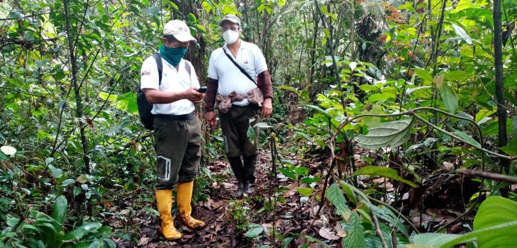 Guardaparques de Ecuador. Los guardaparques son los guardianes de los recursos naturales de las 56 áreas protegidas del Ecuador. Foto: Augusto Granda.