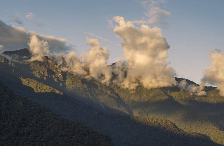 Guardaparques de Ecuador. El Parque Nacional Río Negro-Sopladora fue reconocido como área protegida en 2017 para proteger alrededor de 500 especies. Foto: Fabián Rodas.