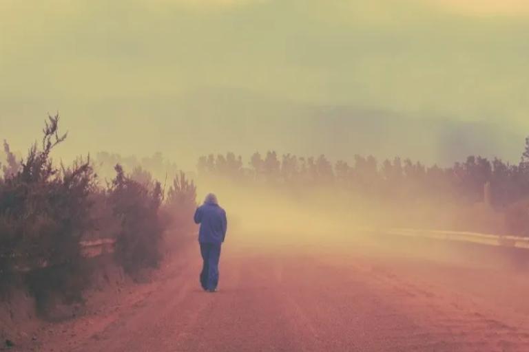 El polvo del Sahara puede afectar a la salud de las personas. Foto: Pixabay.