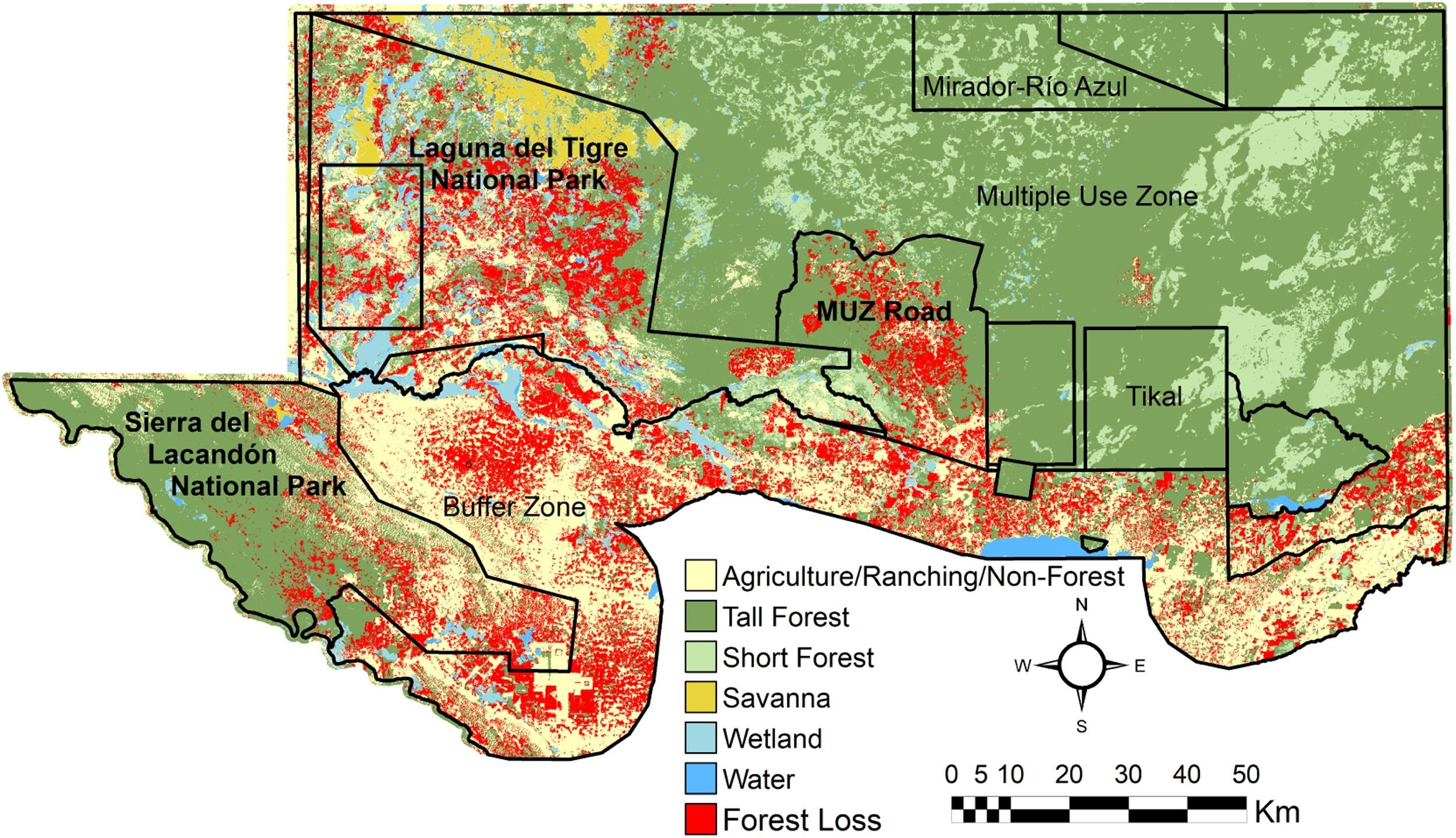 Reserva de la Biósfera Maya