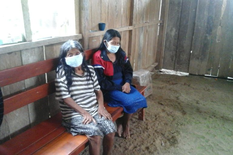 El coronavirus se está extendiendo por los territorio indíeganas awajún y wampis. Foto: Chávez Wajuyat Shimbucat.