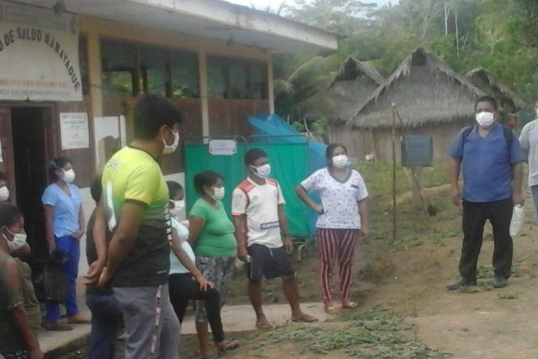 Visita del personal de Salud a las comunidades del Cenepa, en la región Amazonas. Foto: Chávez Wajuyat Shimbucat.