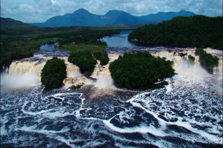 MapBiomas también ofrece información de los ríos amazónicos. Foto: MapBiomas.