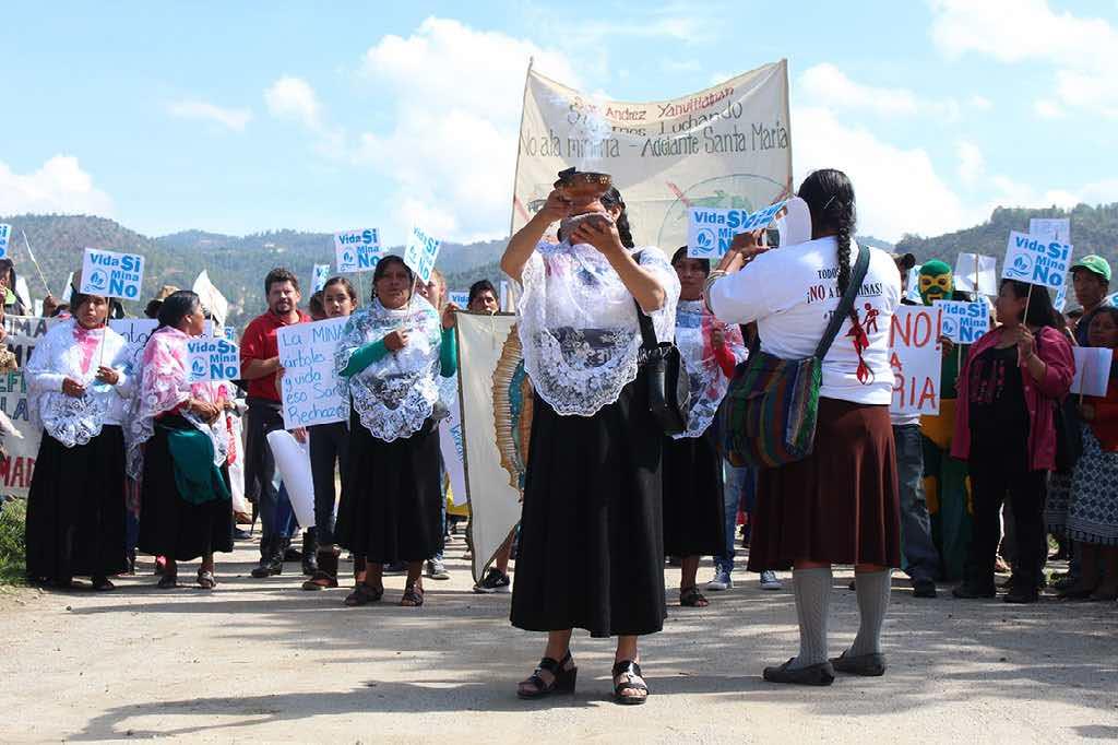 Resistencia contra proyecto minero en Puebla