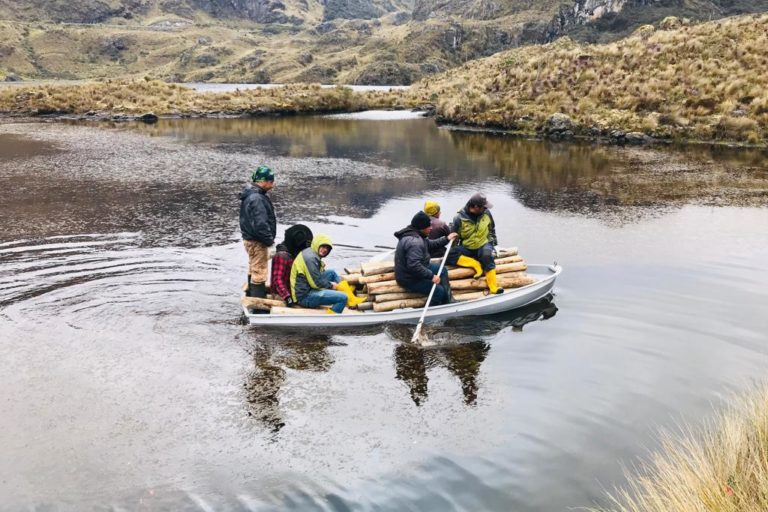 Mas de mil cuerpos de agua alberga el Parque Nacional Cajas. Foto: Agustín Ordoñez.