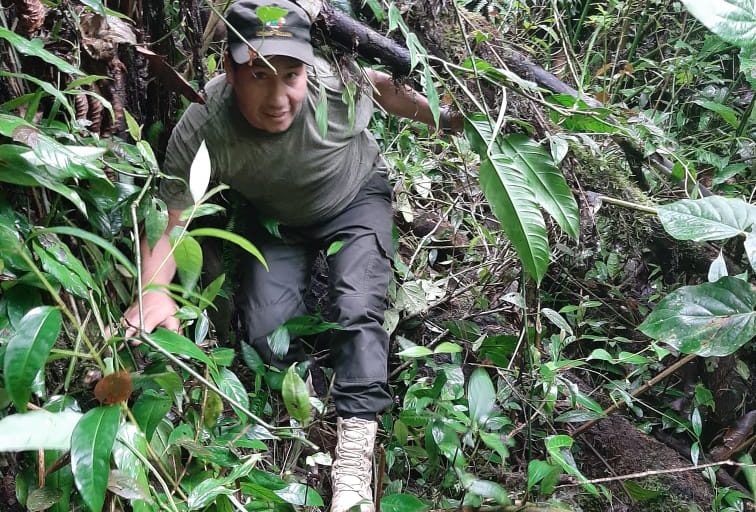 Los guardaparques también enfrentan amenazas como la caza furtiva, la tala ilegal o los incendios forestales. Foto: César Bascopé.