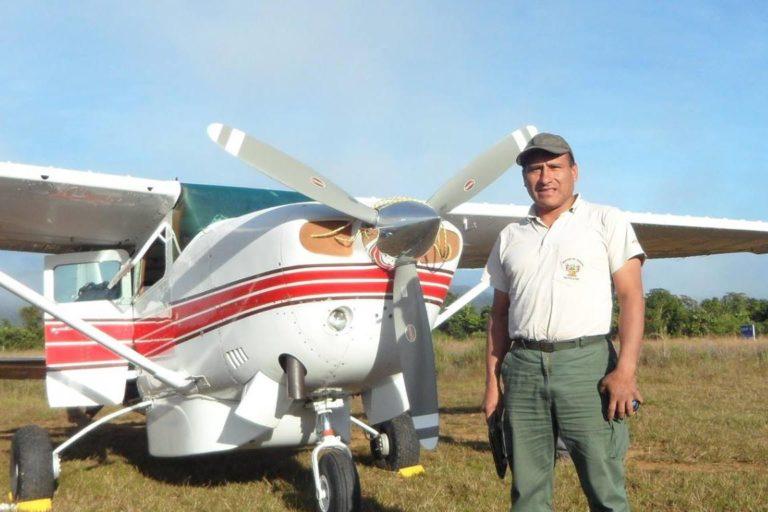 Raúl Cañahuiri lleva 23 años recorriendo el Parque Nacional del Manu. Foto: Raúl Cañahuiri.