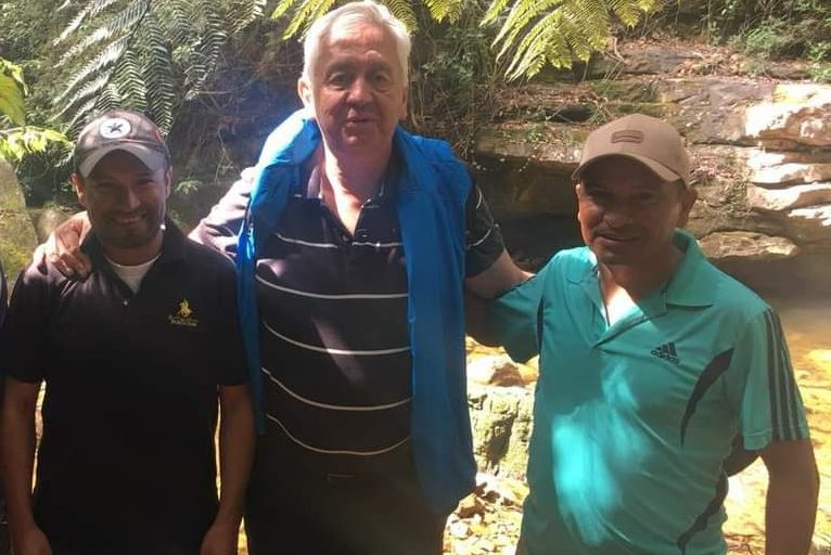 A la izquierda Fernando Forero, a la derecha Pablo Forero. Foto: Cortesía de Reserva Natural Los Yátaros.