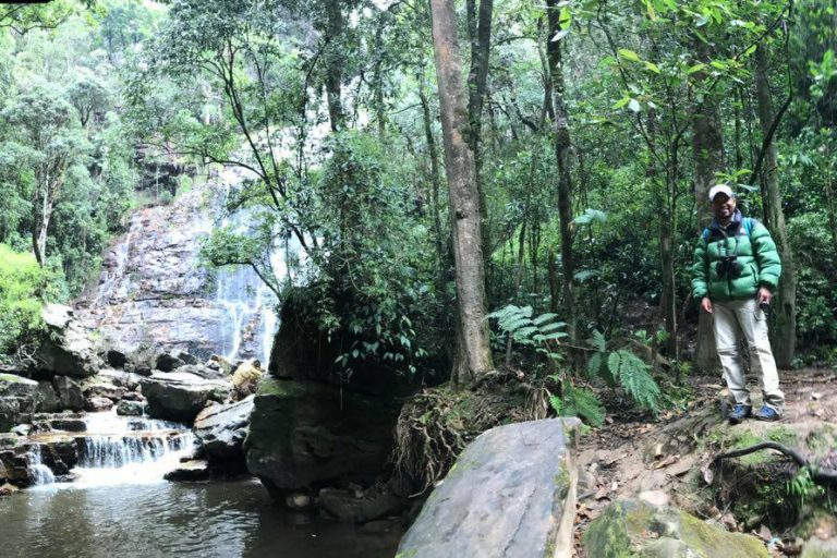 Fernando Forero trabajó como asistente de investigación en el Instituto Humboldt. De ahí su interés por la conservación y por convertir su reserva en un centro de investigación de la biota. Foto: Cortesía de Reserva Natural Los Yátaros.