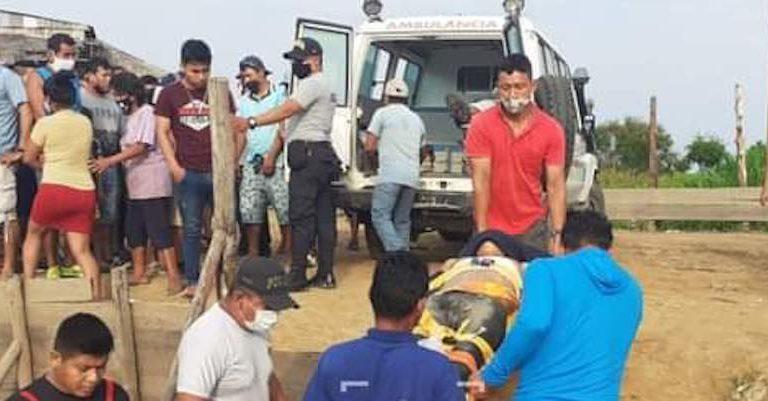 Más de 10 personas resultaron heridas durante los enfrentamientos en el Lote 95, en Loreto. Foto: Al Rojo Vivo.