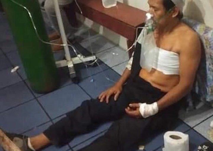 Los heridos fueron atendido en Requena, a cinco horas de la localidad de Bretaña. Foto: William Muñoz Tananta.