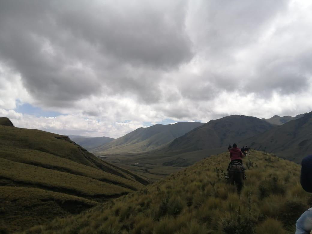 Nueva área protegida Ecuador. Ichubamba Yasepan limita al sur y este con el Parque Nacional Sangay, declarado por la UNESCO como Patrimonio Natural de la Humanidad en 1983. Foto: Cooperativa Ichubamba Yasepan.