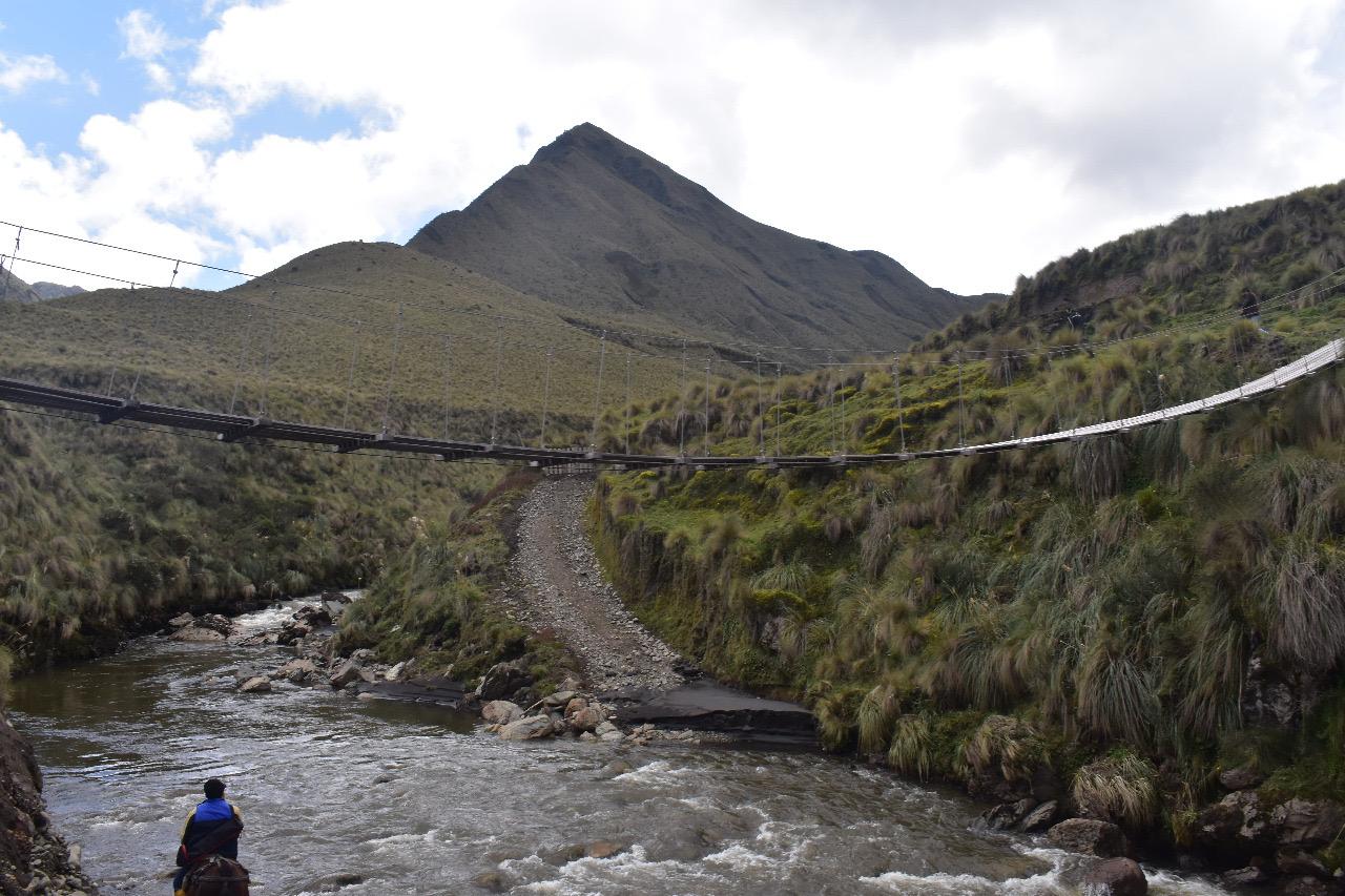 Nueva área protegida Ecuador. Dentro de Ichubamba Yasepan se encuentran 15 ríos que a su vez forman el río Yasepan. Foto: Cooperativa Ichubamba Yasepan.