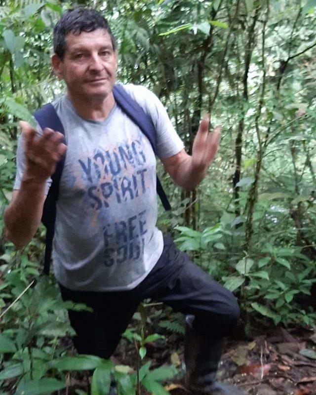 Asesinato líder ambiental Colombia. A Jaime Monge lo conocían como un 'vaquiano', que es el término que usan en la zona para referirse a quien conoce muy bien todo el territorio. Cortesía archivo personal.
