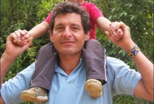 Asesinato líder ambiental Colombia. Jaime Monge era un líder ambiental del corregimiento de Villacarmelo, en Cali, al que mataron el 18 de agosto de 2020. Cortesía archivo personal.