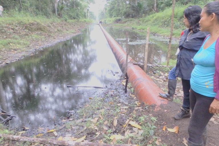 Perú derrame de petróleo