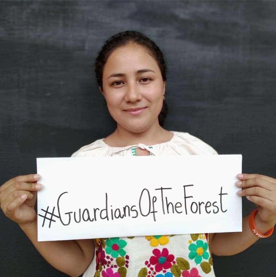 Nansedalia Ramírez, del Ejido Forestal Cordón Grande.