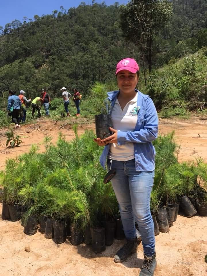 Nansedalia Ramírez, del ejido Cordón Grande, en Guerrero
