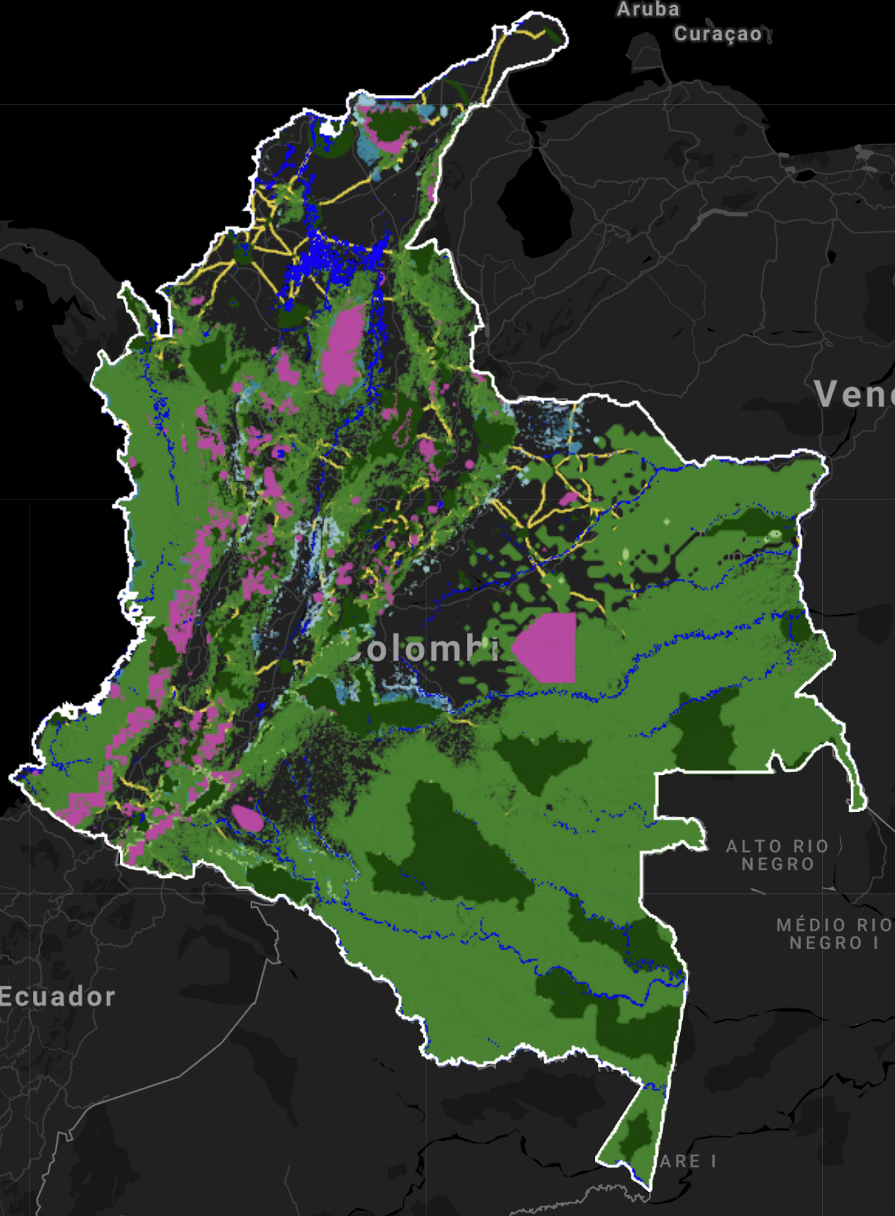 """Para Eric Dinerstein, Colombia es el país más importante de la Tierra para la conservación de la biodiversidad con la mayor cantidad de plantas endémicas y muchos vertebrados. Tiene 33 ecorregiones, solo detrás de Brasil (49) y México (45). Fuente: artículo 'Una """"red de protección global"""" para revertir la pérdida de biodiversidad y estabilizar el clima de la Tierra'."""