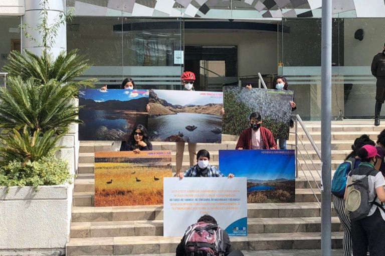 Consulta popular Cuenca. La intención de convocar a una consulta popular es cuidar el agua de Cuenca. Fotografía de Kim Baert.