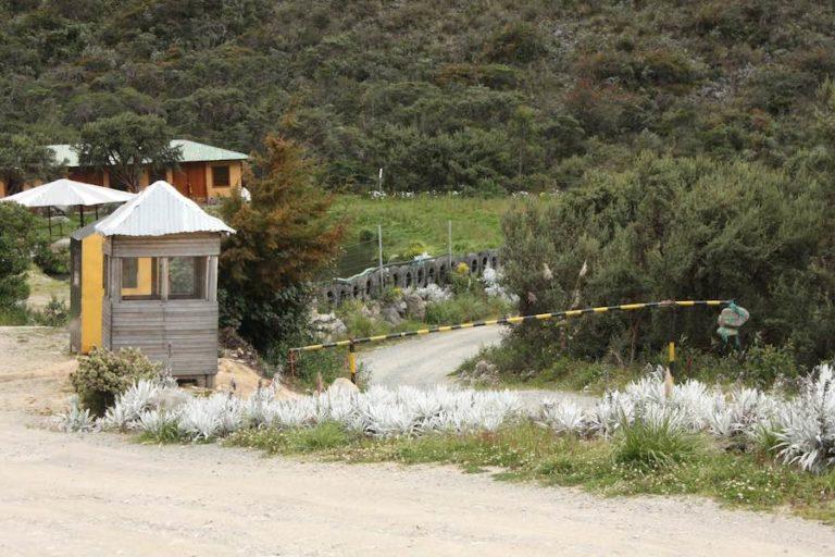 Consulta popular Cuenca. El proyecto Río Blanco está, en teoría, en etapa de explotación, pero una orden judicial lo tiene frenado. Fotografía de Andrés Bermúdez.