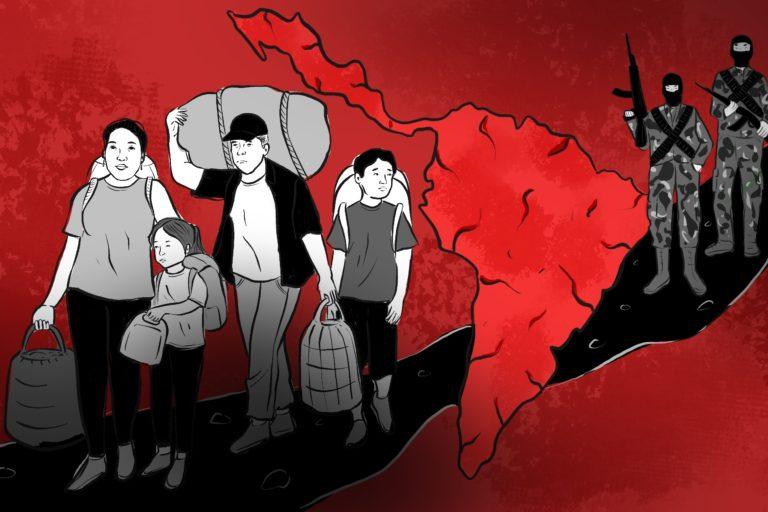 Portada especial Defensores ambientales la violencia del desplazamiento