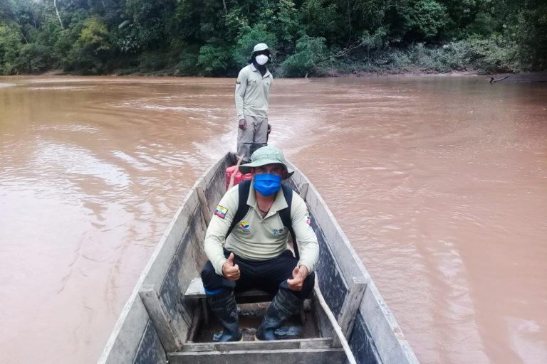 Despidos guardaparques Ecuador. La desvinculación masiva de guardaparques y personal del Ministerio de Ambiente y Agua pone en peligro los esfuerzos de conservación de la naturaleza. Fotografía de la Asociación de Guardaparques del Ecuador (AGE).